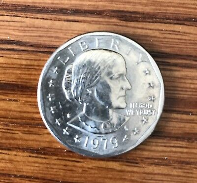 1979 S Susan B Anthony Dollar, AU, Fill Your Coin Book! #502