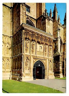 Canterbury Cathedral Postcard England The South Porch UK Unposted