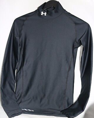 Under Armour Coldgear Mock Compression Long Sleeve Men Shirt Small Style 1221708