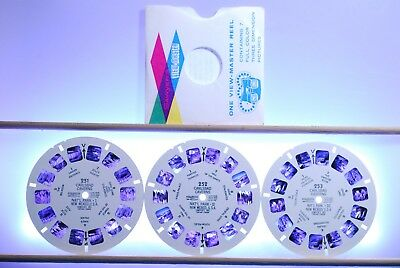 Carlsbad Caverns 3-reel Set 251-252-253 - Reels Only - Sawyers View-Master