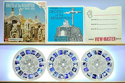 Grotto of the Redemption 3-reel Set A541 - GAF G2 ed. B Packet - View-Master