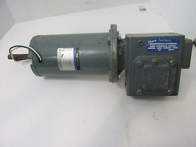 Ohio Permanent Magnet Motor 1725 RPM DOERR Electric Gear Reduction Box
