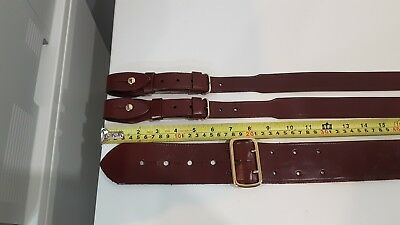"""Sam Browne"" Australian Army Officers Sword Belt Medium size"