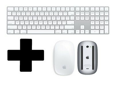 New Apple Magic Keyboard with Numeric Pad and Magic Mouse 2 Wireless Lightning