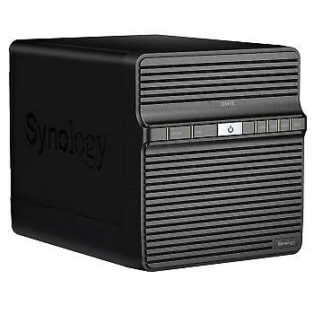 NEW! Synology Ds418J 24Tb 4 X 6Tb Seagate Ironwolf Hdd Nas Desktop Ethernet Lan