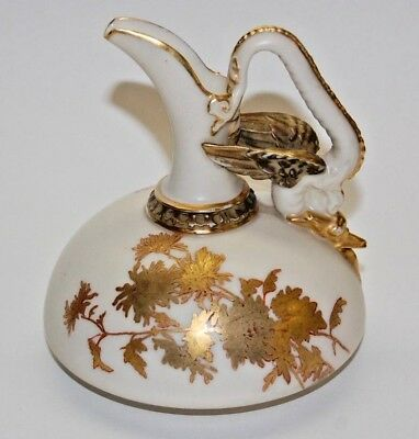 Vintage 1888 Royal Worcester China Pitcher 4.5 Inches Tall (Date Code Z)