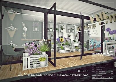 Container Shop. Florist business or other. Outstanding design! FLOWERS