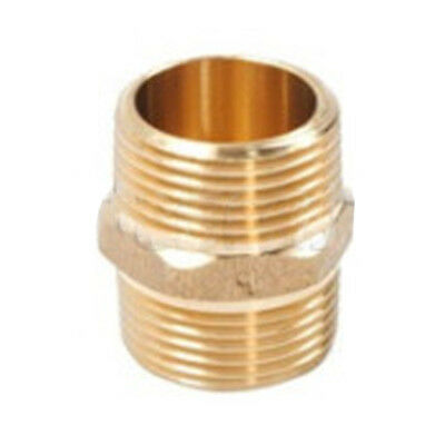 """Universal 3/4"""" Water Supply Brass Hose Threaded Connector for Washing Machine"""