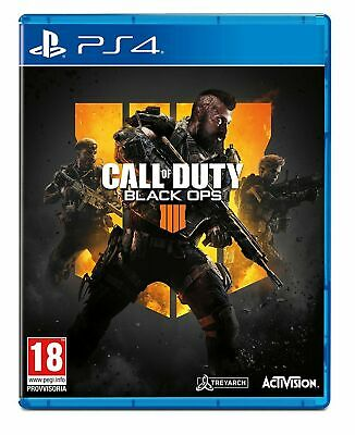 Call Of Duty Black Ops 4 Videogioco Ps4 Gioco Playstation 4 Italiano Nuovo Pal