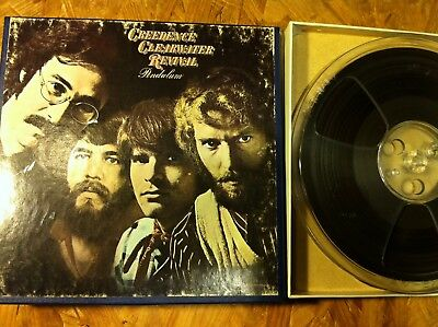"Reel to Reel Tape 7.5ips 2 Track Copy ""Pendulum"" CCR, 1970"