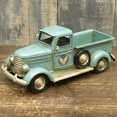 Tin toy antique style nostalgic car vintage car air force track