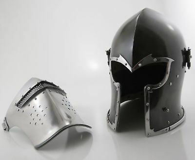 Medieval Barbute Helme Armour Helmet Roman knight helmets.NEW FOR SALE BUY NOW
