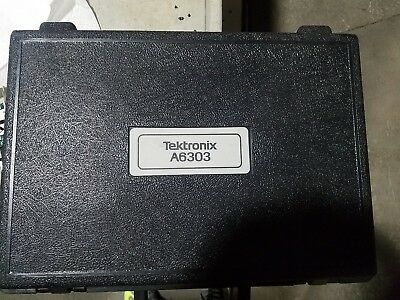 Tektronix A6303 15 Mhz 100 Amp Ac/dc Current Probe With Case / Accessories