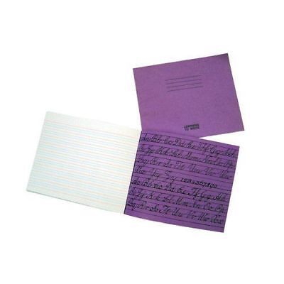 Silvine Handwriting Book School Exercise Double Ruling 32 Pages 165 x 203mm / A4