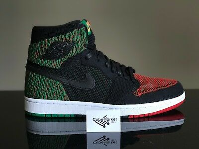 Air Jordan 1 Retro High Flyknit BHM 2018 Equality AA2426-026 8-13 Shipping now