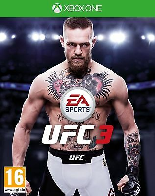 Ufc 3 Ea Sports - Xbox One - New & Sealed - In Stock Now!!!