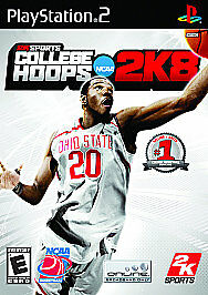 NEW! ~ College Hoops 2K8 (Sony PlayStation 2, 2007) College Basketball Game!