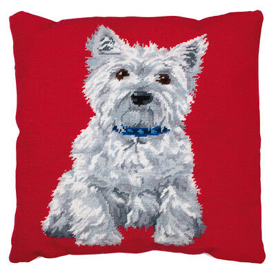 Westie : Anchor Tapestry Kit: Cushion : Living : - ALR36