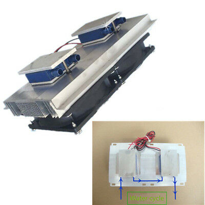 120W Semiconductor Refrigeration Thermoelectric Peltier Water Cooling Device HOT