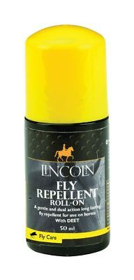 Lincoln Fly Repellent Roll-On - Horse Fly Care 50ml 4101