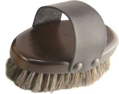 HySHINE Deluxe Horse Hair Wooden Horse Pony Grooming Body Brush 10480P