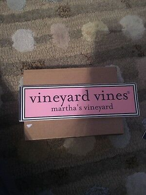 NEW Vineyard Vines  bumper sticker decal!Limited edition.  Rare & hard to find!