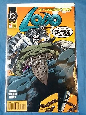 Lobo #1-12 + Annuals 1 & 2 + 2 Specials [1993,DC] * Lobocop * In The Chair *