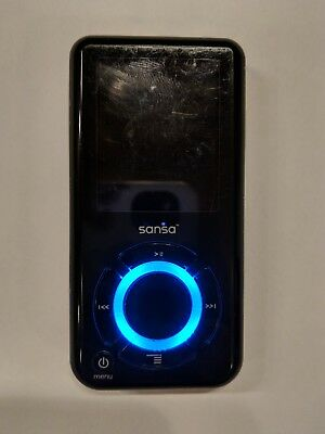 BRICKED SanDisk Sansa e280 Black ( 8 GB ) MP3 Player BUNDLE
