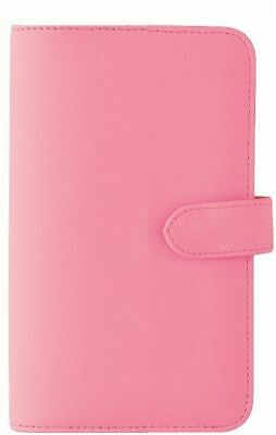 Debden DayPlanner Slimline Sized PU Snap Closure Pink SL7050 NEW 162x82mm