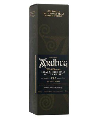 Ardbeg 10YO Single Malt Scotch Whisky 700ml(Boxed)