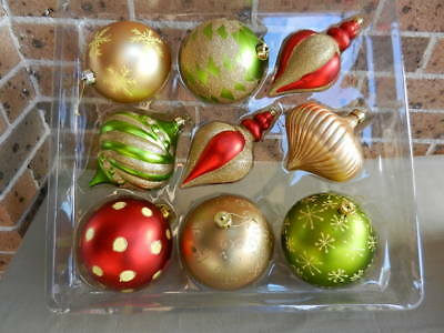 Extra Large CHRISTMAS DECORATIONS Baubles