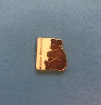 Vintage Fosters Lager Beer Hat Lapel Pin A
