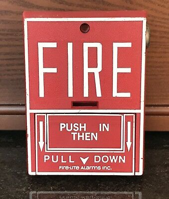 Fire-Lite BG-10LX Addressable Fire Alarm Pull Station