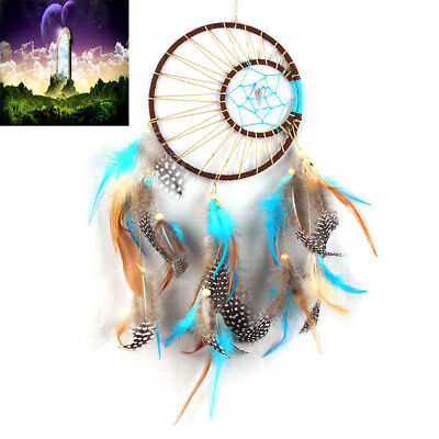 "15.7 "" Handmade Dream Catcher Feathers Wall Hanging Decoration Ornament Gift"