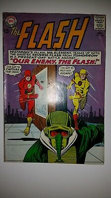 The Flash #147 VG+ 2nd App Professor Zoom (1964) awesome classic flash cover 😱