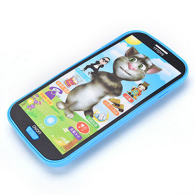 Baby Kids Simulator Music Phone Touch Screen Kid Educational Learning Toy QW