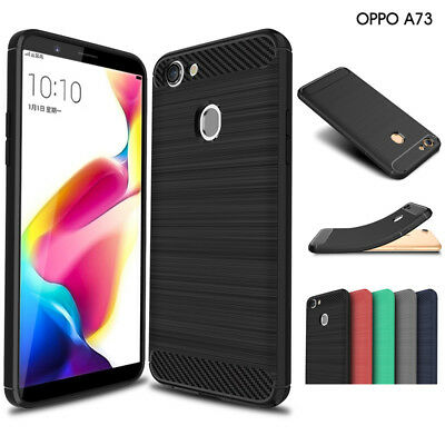 OPPO A73 Shockproof Protective Shell TPU Back Cover Anti Knock Case