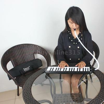 37 Piano Keys Melodica Pianica Instrument for Students Beginners Kids Black E6L0