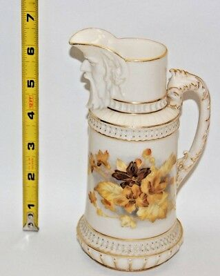 Vintage 1867 Royal Worcester China Pitcher (Date Code A)