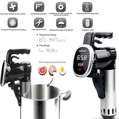 850W Sous Vide Stick Precision lente cuisson thermique circulateur d'Immersion