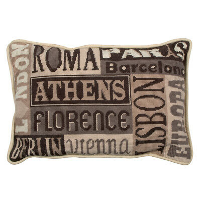 Cities of Europe : Anchor Tapestry Kit: Cushion : Living : - ALR59