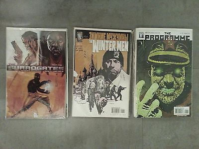 The Programme * The Winter Men * The Surrogates * 23 Comic LOT * FREE S&H