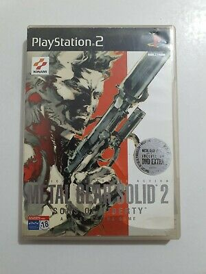 Metal Gear Solid 2 Sons of Liberty PlayStation 2 (ps2)pal ESPAÑA COMPLETO 2 CD's