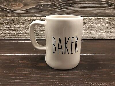 "Rae Dunn Inspired Vinyl Decal ""Baker"" Farmhouse Coffee"