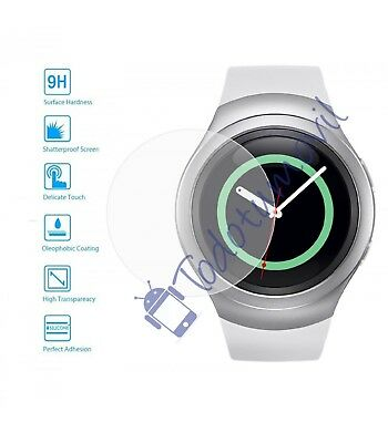 protective lot of Screen Glass Tempered for Samsung Galaxy Gear S2 / 2