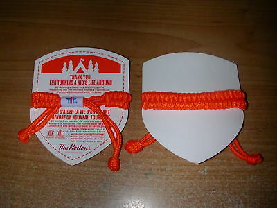 Tim Hortons Camp Day Bracelets ( 2 ) ( ORANGE )