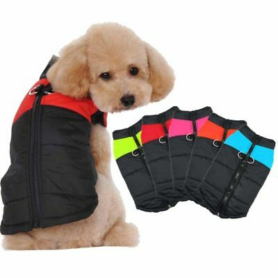 Dog Warm Coat Cotton Vest Outdoor Puppy Pets Jacket Winter Shirt Clothes