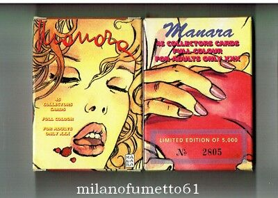MILO MANARA SET DI 45 PROMO CARDS - Carte da collezione Limited Edition
