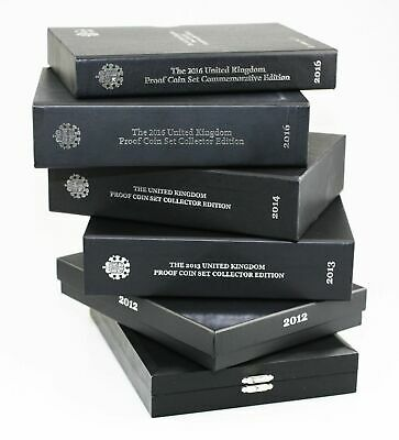 ROYAL MINT Coin Proof Set Empty Boxes/Display Case etc 2008-2020 - No Coins