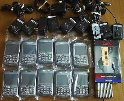 Q104 STOCK B-C Lot of 10 Blackberry Curve 8310 at&t Camera UNLOCKED GSM QUADBAND